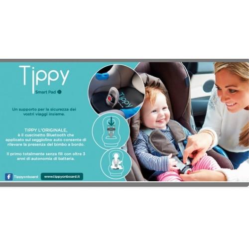digicom 8e4610 cuscino tippy  Tippy Smart Pad Cuscino di Sicurezza Seggiolino Auto Digicom 8E4610 ...