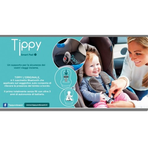 digicom 8e4610 tippy  Tippy Smart Pad Cuscino di Sicurezza Seggiolino Auto Digicom 8E4610 ...