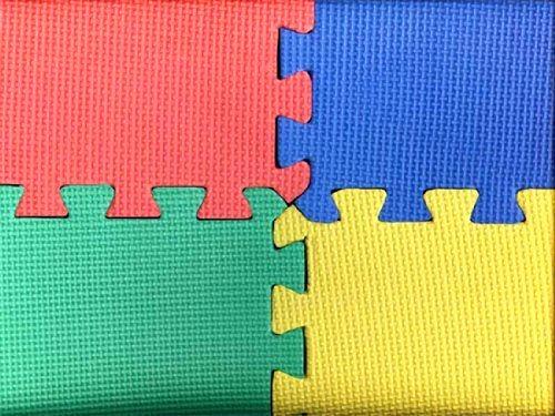 Kidz corner tappeto gioco antitrauma 8 pz giochi e - Tappeto antitrauma ...