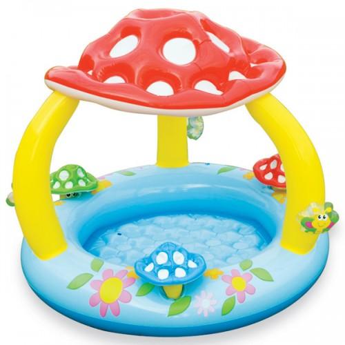 Intex piscina baby fungo 57407np giochi e giocattoli for Piscinas desmontables rectangulares intex