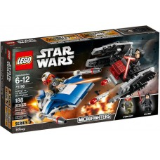 A Wing Contro Microfighter Tie Silencer - LEGO Star Wars 75196