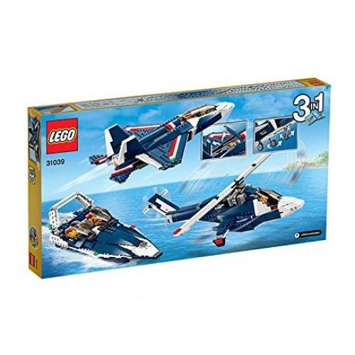 Lego creator jet blu 31039 giochi e giocattoli for Grandi jet d affari in cabina