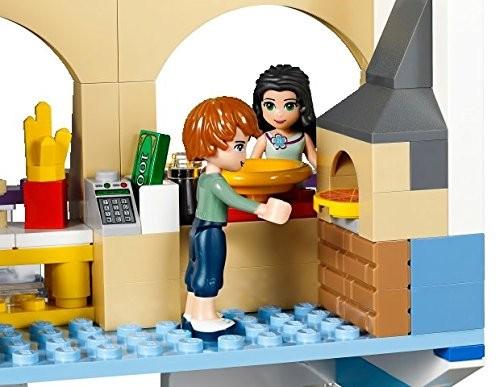 Lego friends 41058 centro commerciale di heartlake for Centro di lewis della cabina della pizza
