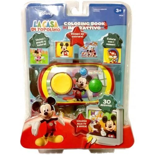Disney La Casa Di Topolino Coloring Book Interatttivo Giochi E